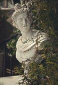 garden statue in greece, island Zakynthos