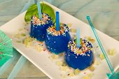 Blue Ice Pops