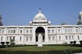 KOLKATA,INDIA - NOVEMBER 27: Victoria Memorial building in Kolkata, West Bengal, India on November 27,2012.