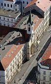 ZAGREB, CROATIA - OCTOBER 14: Church of Saint Vincent de Paul in Zagreb on October 14, 2007 Zagreb,