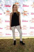 LOS ANGELES - AUG 16:  Allison Holker at the Disney Junior's Pirate and Princess: Power of Doing Goo