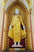 picture of tabernacle  - Covered with gold leaf Laymyatnar Buddha - JPG