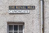 Edimburgh - Royal Mile Plate