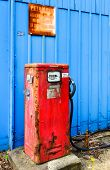 Vintage Diesel Pump, Newark, England