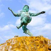 Jolly Fisherman Statue, Skegness.