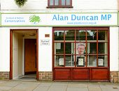 The office of Rt Hon Sir Alan Duncan MP