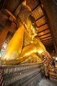 Big Golden Reclining Buddha