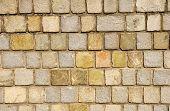 Old Granite Wall Closeup