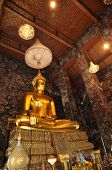 Gold Buddha Grand Mural
