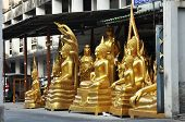 Gold Buddha Group Set Wayside
