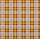 Fabric with a checked pattern in brown tones