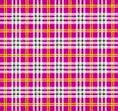 Fabric with a checked pattern in pink tones