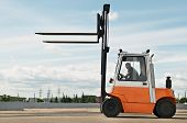 Forklift Loader For Warehouse Works