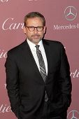 PALM SPRINGS, CA - JAN 3: Steve Carell arrives at the 2015 Palm Springs Film Festival Awards Gala at the Palm Springs Convention Center on January 3, 2015 in Palm Springs, CA.