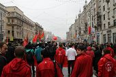 Procession Of Communists In Moscow