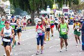 Participants Competing In The 2014 Comrades Marathon Road Race