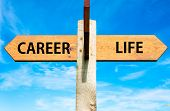 Постер, плакат: Career and Life signs