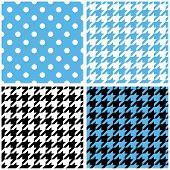 picture of dot pattern  - Blue - JPG