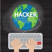 Hacker Illustration.