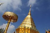 Wat Phrathat Doi Suthep Temple In Chiang Mai Province