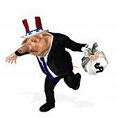 Carne de porco do Congresso - em execução