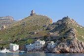 Ancient Genoese Fortes Ruins