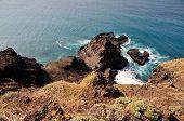 Peninsula Below Cliff