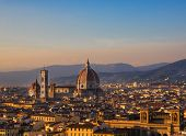 Cathedral Of Santa Maria Del Fiore A Florence