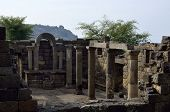 picture of golan-heights  - Archaeological site Mother of the Arches or Umm el Kanatir in Golan Heights Israel - JPG