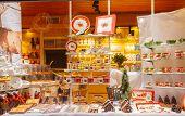 Bruges. Decorated Shop Window.
