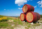Barrels Sign Near Winehouse