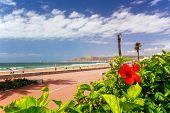 Boardwalk In Agadir, Morocco