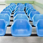 Empty Waiting Seats In Hospital