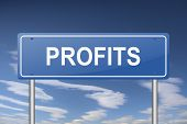 profits sign