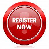 register now icon