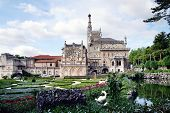 Hunting Royal Palace In The Forest Bussaco, Portugal