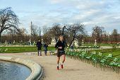 Paris. Tuileries Gardens.