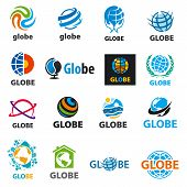 Biggest Collection Of Vector Icons Globes