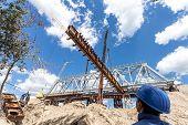 Constructing of bridge