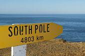 South Pole Sign