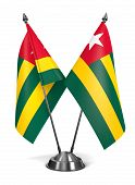 Togo - Miniature Flags.