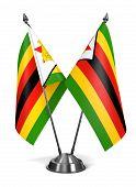 Zimbabwe - Miniature Flags.