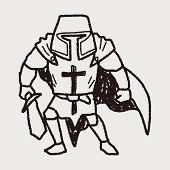 pic of paladin  - Knight Doodle - JPG