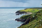 stock photo of off-shore  - A view of the Atlantic Ocean off the West Coast of Ireland - JPG