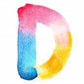image of letter d  - Letter D  - JPG