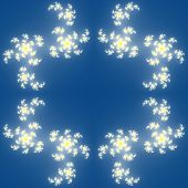 picture of mandelbrot  - Fractal floral pattern generated texture or background - JPG