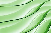 stock photo of neon green  - Green color neon abstract background gradient waves - JPG