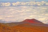 Постер, плакат: Облако банка на Мауна Кеа