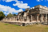 pic of serpent  - Chichen Itza feathered serpent pyramid - JPG