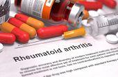 stock photo of syringe  - Rheumatoid Arthritis  - JPG